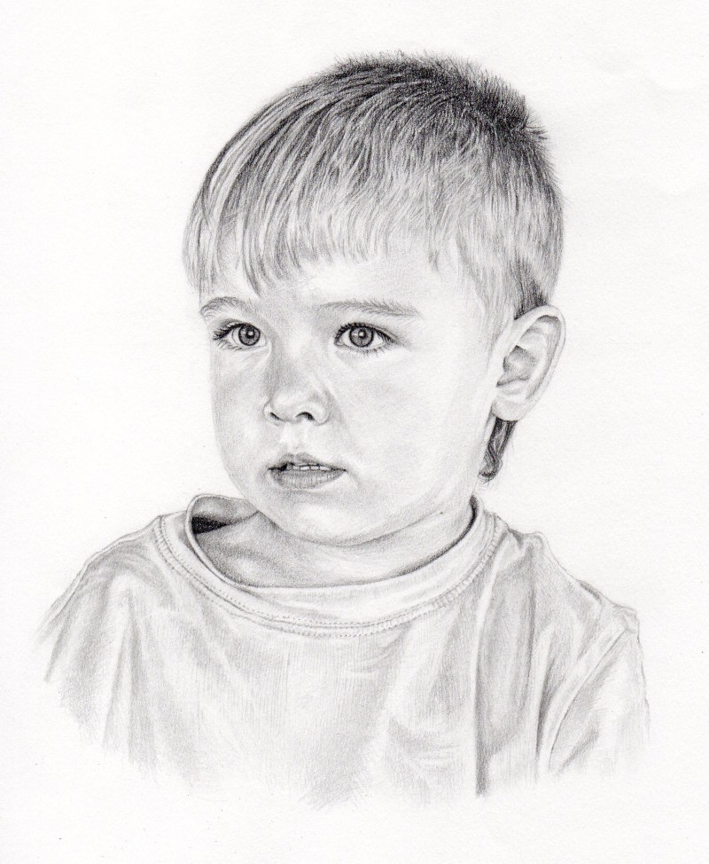 Anton, . Pencil drawing by Katerina Wood